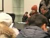 В конференц-зале комплекса слушателям показали презентацию порта и рассказали о планах и перспективах проекта.