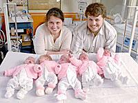 Более полутора лет назад супруги Артамкины стали родителями сразу пятерых девочек.