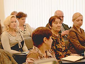 На семинар приехали слушатели из 22 регионов России.